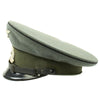 show larger image of product view 5 : Original German WWII Named DRB Bahnschutzpolizei Railway Police 56cm Visor Cap by Clemens Wagner Original Items