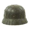 show larger image of product view 6 : Original German WWII Named Army Heer M40 Chicken Wire Steel Helmet with Size 58 Liner - ET66 Original Items