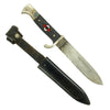 show larger image of product view 1 : Original German WWII 1939 dated Hitler Youth Knife with Scabbard by PUMA - RZM M7/27 Original Items