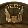 show larger image of product view 4 : Original U.S. WWII Air Transport Command ATC Crush Peaked Visor Cap Original Items