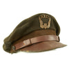 show larger image of product view 3 : Original U.S. WWII Air Transport Command ATC Crush Peaked Visor Cap Original Items