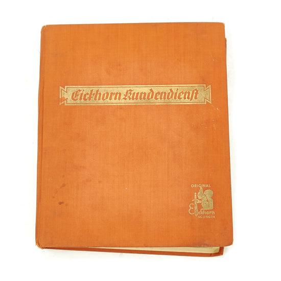 Original German WWII Carl Eickhorn Kundendienst 1938 Edition Sales Catalog Original Items