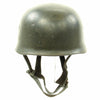 show larger image of product view 3 : Original German WWII M38 Luftwaffe Fallschirmjäger Paratrooper Helmet with Replica Chinstrap - ET66 Original Items