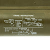 show larger image of product view 14 : Original U.S. M72A2 LAW Light Anti-Tank Weapon Rocket Propelled Grenade Launcher - Deactivated Original Items
