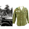 show larger image of product view 1 : Original U.S. 1960s Major General David Warren Gray HBT Shirt Original Items