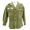 show larger image of product view 2 : Original U.S. 1960s Major General David Warren Gray HBT Shirt Original Items