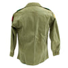 show larger image of product view 16 : Original U.S. 1960s Major General David Warren Gray HBT Shirt Original Items