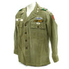 show larger image of product view 5 : Original U.S. 1960s Major General David Warren Gray HBT Shirt Original Items