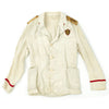 show larger image of product view 10 : Original Italian WWII MVSN Officer Summer White Uniform Jacket Original Items