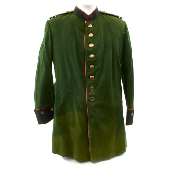 Original German Pre WWI Prussian Officer Waffenrock Jacket