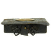 show larger image of product view 4 : Original U.S. Civil War Model 1861 Cartridge Box with Plate and Tins Original Items