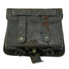 show larger image of product view 8 : Original U.S. Civil War Model 1861 Cartridge Box with Plate and Tins Original Items
