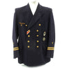 show larger image of product view 1 : Original German WWII Kriegsmarine Oberleutnant zur See Reefer Jacket with Medals Original Items