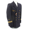 show larger image of product view 2 : Original German WWII Kriegsmarine Oberleutnant zur See Reefer Jacket with Medals Original Items