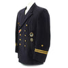 show larger image of product view 3 : Original German WWII Kriegsmarine Oberleutnant zur See Reefer Jacket with Medals Original Items