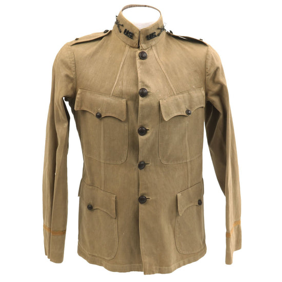 Original U.S. Army Pre-WWI M1912 Officer Summer Field Blouse Original Items
