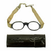 show larger image of product view 1 : Original German Luftwaffe Fighter Pilot Splinter Goggles Ultrasin Glasses Type D with Tin Original Items