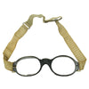 show larger image of product view 8 : Original German Luftwaffe Fighter Pilot Splinter Goggles Ultrasin Glasses Type D with Tin Original Items