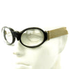 show larger image of product view 13 : Original German Luftwaffe Fighter Pilot Splinter Goggles Ultrasin Glasses Type D with Tin Original Items