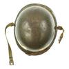 show larger image of product view 7 : Original U.S. WWII Fifth Army MP Helmet - Schlueter Rear Seam with Westinghouse Liner Original Items