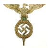 show larger image of product view 1 : Original German WWII NSDAP National Socialist Party First Pattern Flag Pole Finial Eagle Original Items