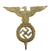 show larger image of product view 5 : Original German WWII NSDAP National Socialist Party First Pattern Flag Pole Finial Eagle Original Items