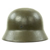 show larger image of product view 7 : Original German WWII USGI Decorated M35 Steel Helmet Shell - EF64