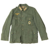show larger image of product view 7 : Original German WWII Kriegsmarine Coastal Artillery Enlisted Tunic with Badge Original Items