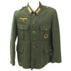 show larger image of product view 1 : Original German WWII Kriegsmarine Coastal Artillery Enlisted Tunic with Badge Original Items