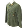 show larger image of product view 6 : Original German WWII Kriegsmarine Coastal Artillery Enlisted Tunic with Badge Original Items