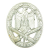 show larger image of product view 1 : Original German WWII Silver Grade Hollow Back General Assault Badge - Excellent Condition Original Items