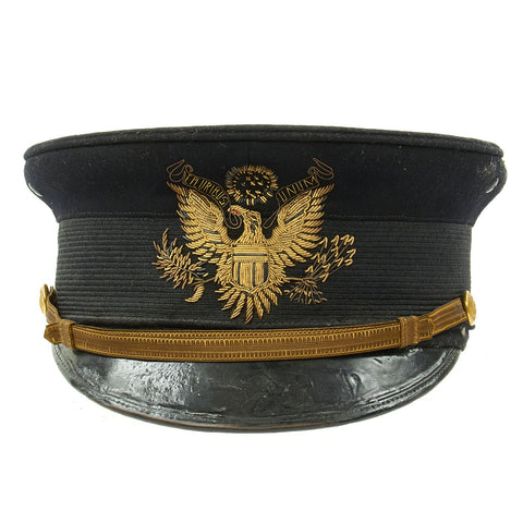 Original WWI Era U.S. Army M1902 Officer's Visor Cap by Pettibone Bros. Mfg. Co. - Excellent Condition Original Items