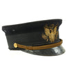 show larger image of product view 3 : Original WWI Era U.S. Army M1902 Officer's Visor Cap by Pettibone Bros. Mfg. Co. - Excellent Condition Original Items