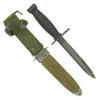 show larger image of product view 1 : Original U.S. Vietnam War Era M7 Bayonet by Imperial for M16 Rifle with M8A1 Scabbard Original Items