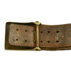 show larger image of product view 13 : Original Imperial German WWI Hate Belt with Gott Mit Uns Prussian Buckle & 9 Buttons Original Items