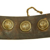 show larger image of product view 7 : Original Imperial German WWI Hate Belt with Gott Mit Uns Prussian Buckle & 9 Buttons Original Items