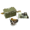 show larger image of product view 1 : Original British WWII Fullerphone MkV Field Telegraph Set in Case with Strap - dated 1944 Original Items