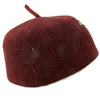 show larger image of product view 7 : Original German WWII French-Made Waffen SS Maroon Parade Fez for Foreign Volunteers - dated 1940 Original Items