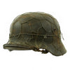 show larger image of product view 4 : Original German WWII Army Heer M40 Chicken Wire Steel Helmet with 57cm Liner - SE64 Original Items