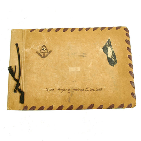WW2 GERMAN NAVY/LABOR CORPS PHOTO ALBUM Original Items