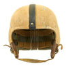 show larger image of product view 1 : Original U.S. Early WWII Airborne Paratrooper Training Football Helmet by Riddell Original Items