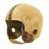 show larger image of product view 2 : Original U.S. Early WWII Airborne Paratrooper Training Football Helmet by Riddell Original Items