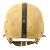 show larger image of product view 4 : Original U.S. Early WWII Airborne Paratrooper Training Football Helmet by Riddell Original Items