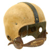 show larger image of product view 6 : Original U.S. Early WWII Airborne Paratrooper Training Football Helmet by Riddell Original Items