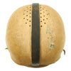show larger image of product view 7 : Original U.S. Early WWII Airborne Paratrooper Training Football Helmet by Riddell Original Items