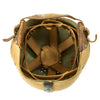 show larger image of product view 8 : Original U.S. Early WWII Airborne Paratrooper Training Football Helmet by Riddell Original Items
