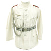 show larger image of product view 1 : Original German WWII Artillery Officer Lieutenant White Summer Uniform Jacket Original Items