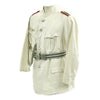 show larger image of product view 4 : Original German WWII Artillery Officer Lieutenant White Summer Uniform Jacket Original Items
