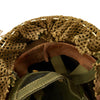 show larger image of product view 12 : Original Belgian Post WWII British Style Paratrooper Helmet with Net and Burlap Camo Original Items