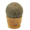 show larger image of product view 2 : Original U.S. Civl War Confederate States Borman 12lb Cannon Ball with Shot Dug Near Battle of Shiloh Site Original Items